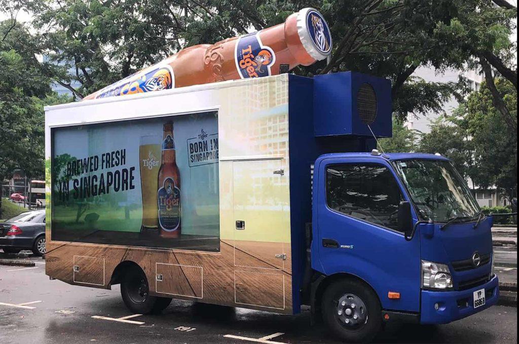 vehicle advertising